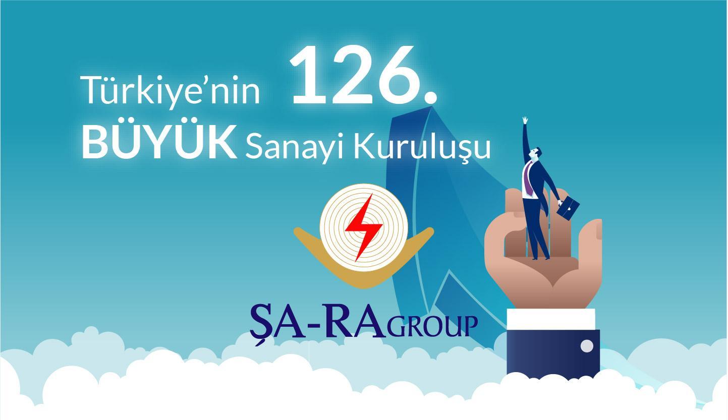 ŞA-RA TÜRKİYE'NİN EN BÜYÜK 126. SANAYİ KURULUŞU